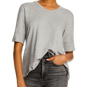 Wilt Cotton Crossover-Back Tee NWT